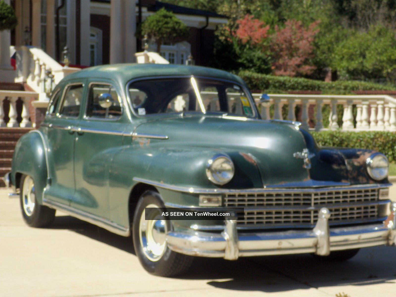 1946 Chrysler Windsor Survivor Air Conditioner