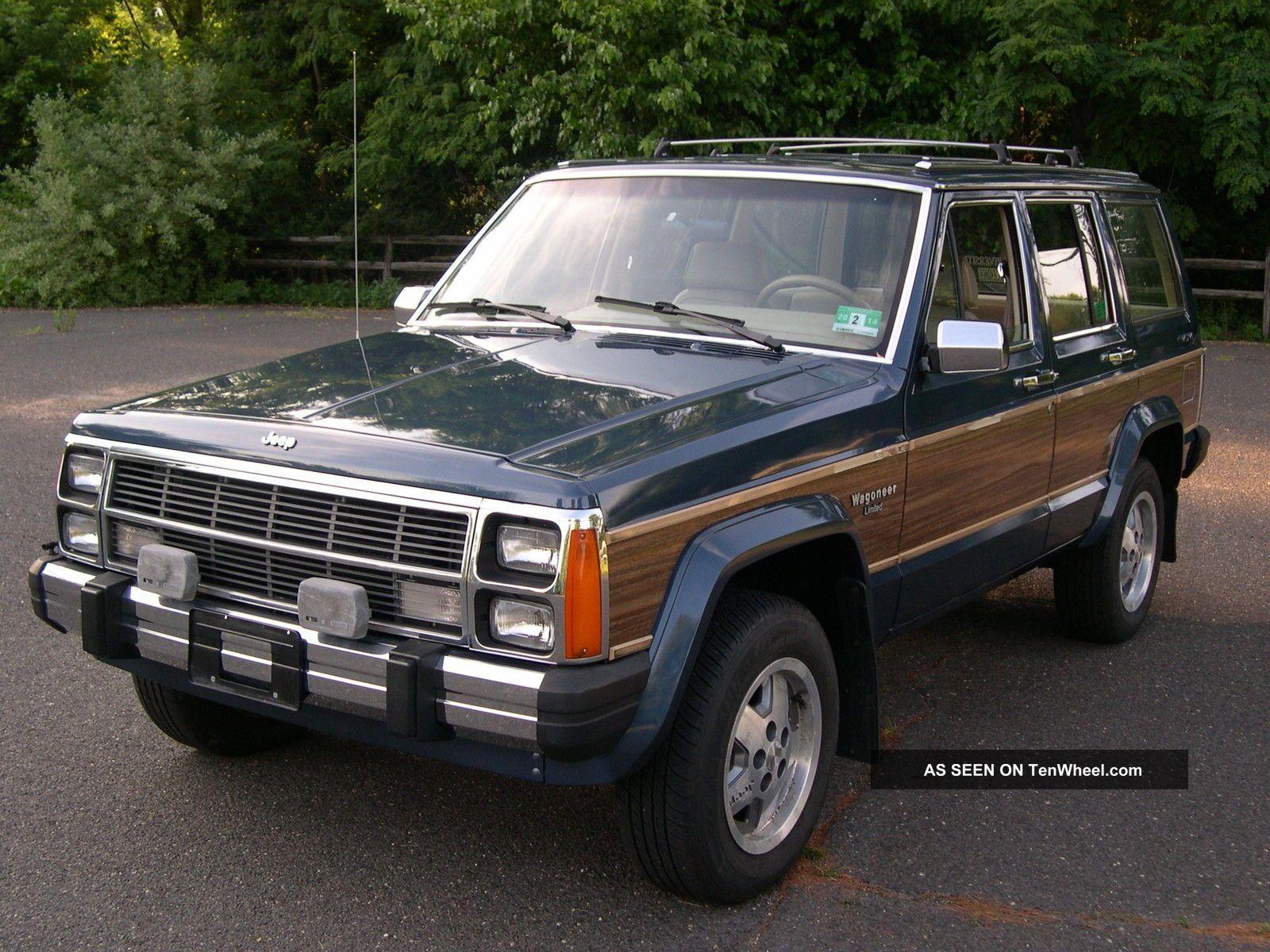 Cars & Trucks - Jeep - Wagoneer Web Museum