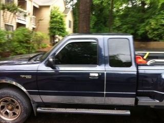 2002 Ford Ranger Xlt Extended Cab Pickup 4 - Door 2.  3l Flareside Bed photo