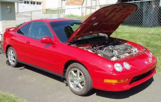 1998 acura integra rs owners manual
