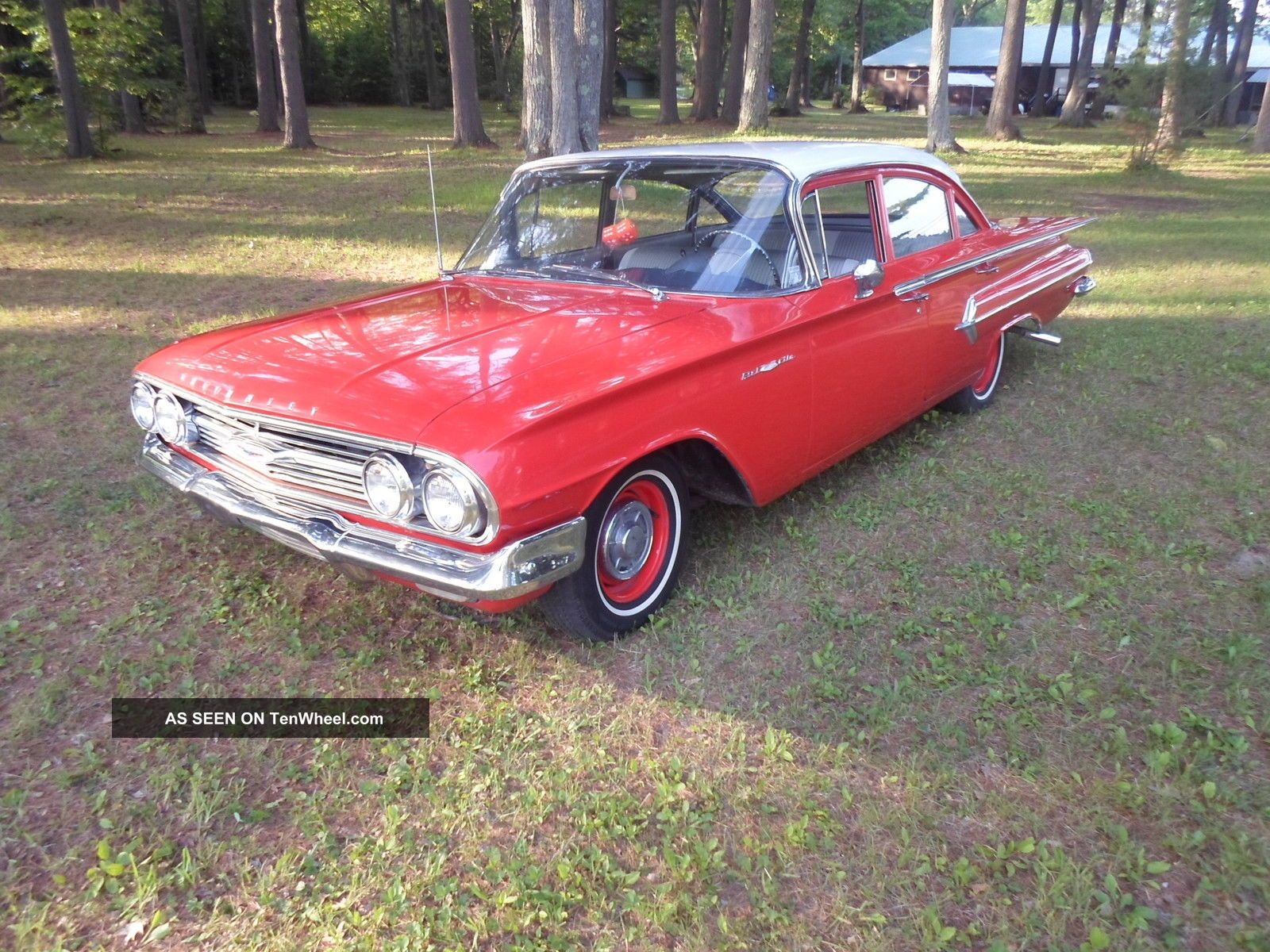 1960 Chevrolet Bel Air Belair Chevy Survivor Impala Un - Bel Air/150/210 photo
