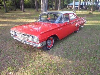 1960 Chevrolet Bel Air Belair Chevy Survivor Impala Un - photo