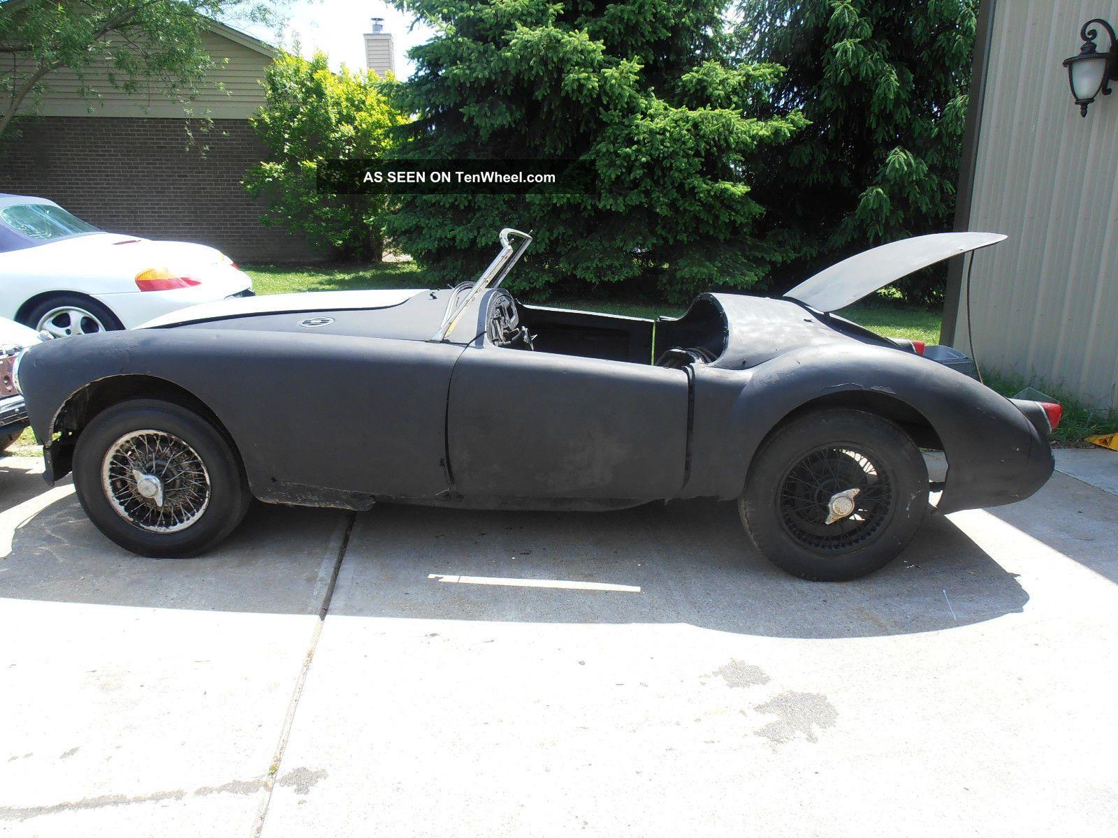 1958 Mg Mga Wire Wheels MGA photo