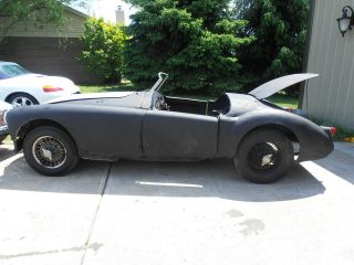 1958 Mg Mga Wire Wheels photo