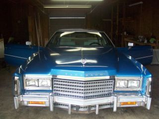1978 Cadillac Eldorado Base Coupe 2 - Door 7.  0l photo