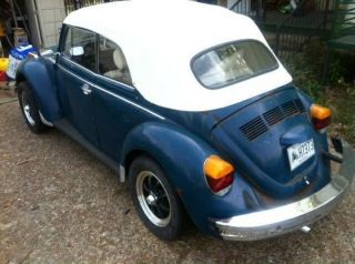 1979 Volkswagen Superbeetle Vw Convertible Beetle Daily Driver photo