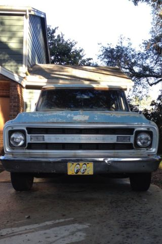 1970 Chevrolet Suburban (3 Door) Shop Truck,  Rat Surf Wagon photo
