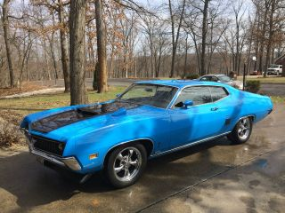 1970 Ford Torino Gt Restomod 5 - Speed Stick Fuel Injected Modern Steering photo