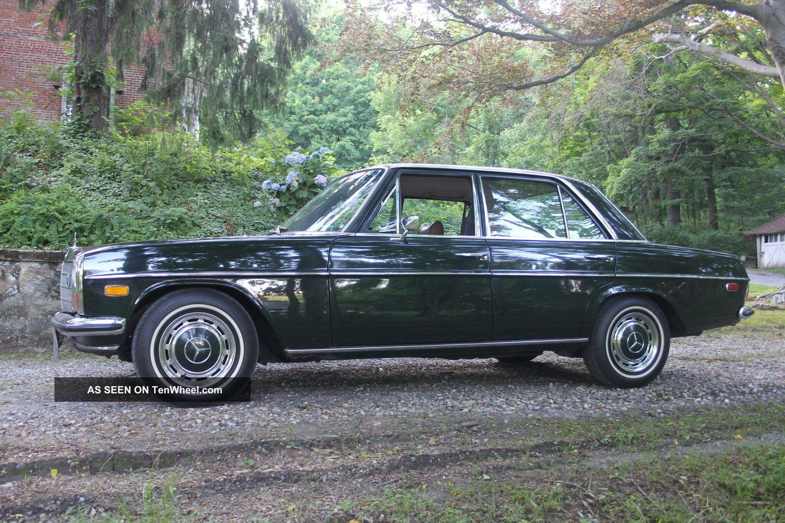 1970 mercedes benz 220 d diesel sedan for 1970 mercedes benz