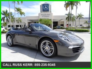 2012 Carrera 3.  6l H6 24v Automatic Convertible Premium photo