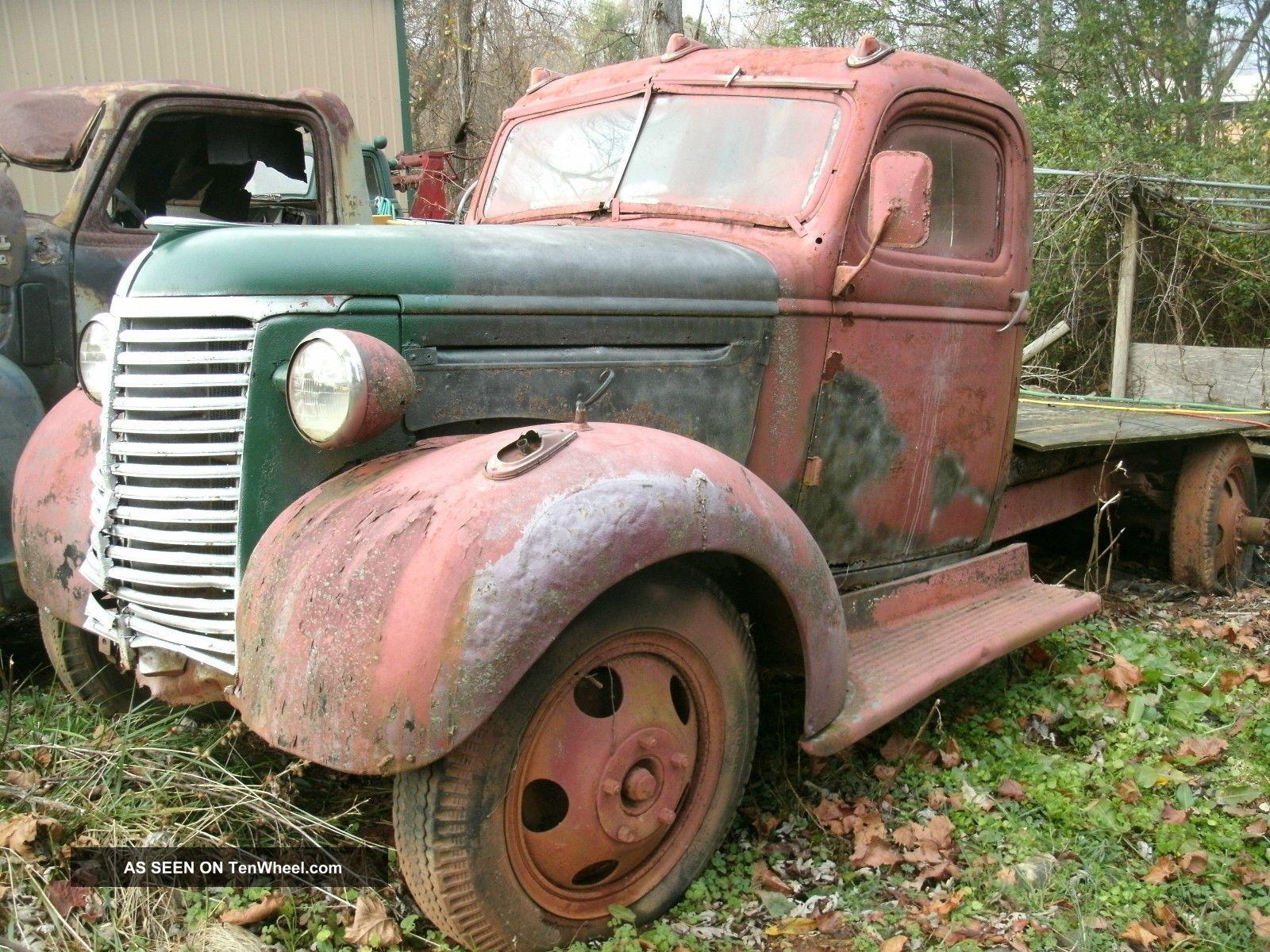 1939 Chevrolet 1 5 Ton Truck For Restore Or Hot Rod Carhauler 1950 Cadillac Wiring Diagram