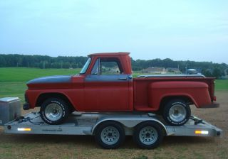 1965 Chevrolet C10 Swb Stepside Pickup - V8 - Auto - Great Father / Son / Daughter Project photo