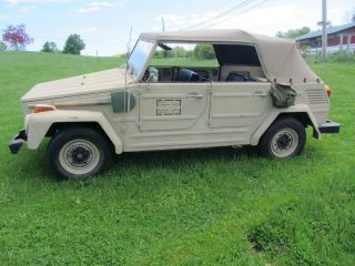 1973 Volkswagon Thing Kubelthing Kubelwagon / Kubelwagen photo