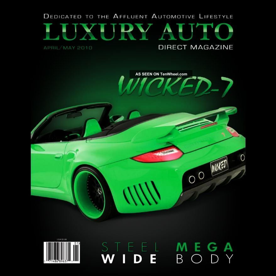 2011porsche 997 Twin Turbo Wicked