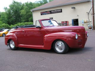 1941 Ford Roadster Hotrod W / 454 Motor photo