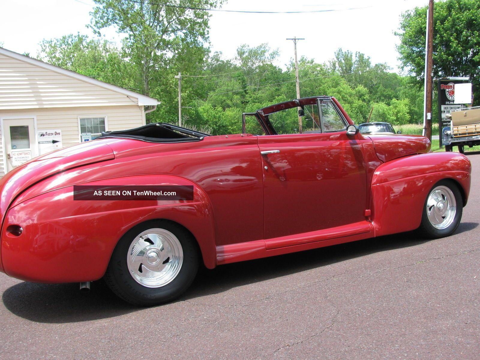 1941 Ford Roadster Hotrod W 454 Motor Custom Hot Rod