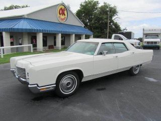 1971 Lincoln Continental 4 Door 7.  5l photo