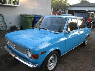 Fiat 128 Survivor 2 Door 1973 Excellent Body Rust No Issues photo