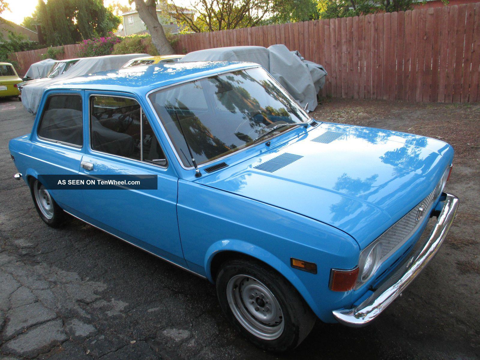 Fiat 128 Survivor 2 Door 1973 Excellent Body Rust No Issues