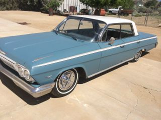 1962 Chevrolet Impala,  4 Door Hard Top,  Rat Rod,  Low Rider,  Hot Rod,  Low Rod,  Patina photo