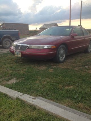 1994 Lincoln Mark Viii Base Sedan 2 - Door 4.  6l photo