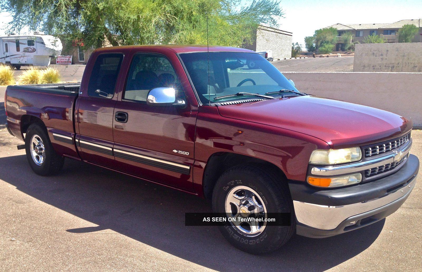 1999 Chevrolet Silverado 1500 Ls Extended Cab Short Bed C / K