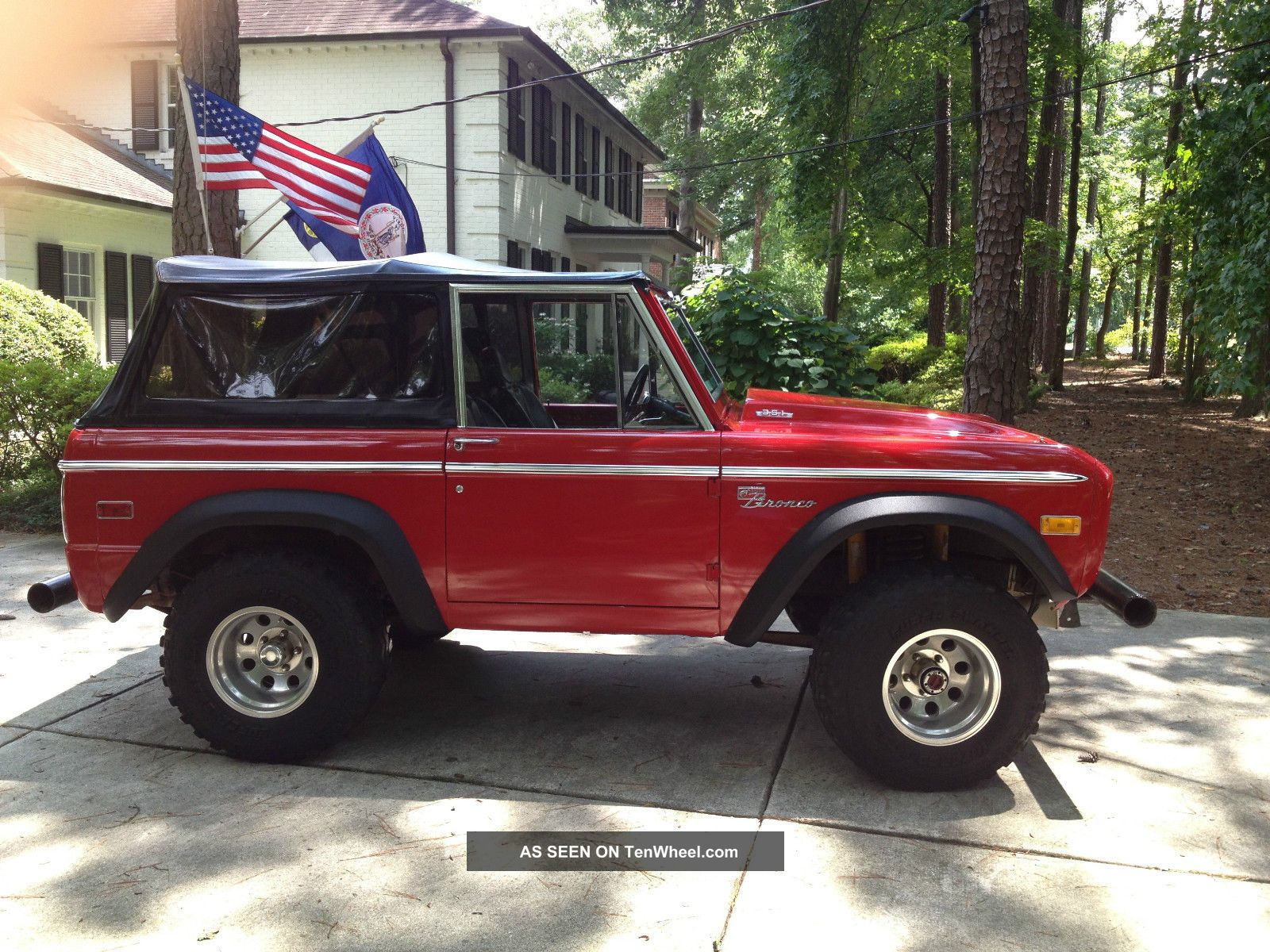 Ford bronco 351 windsor