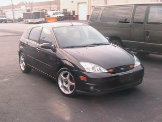 Ford Focus Svt 2003 Black 6 Speed 73k photo