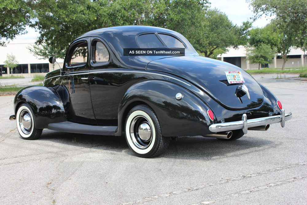 Turbo 350 Transmission Specs >> 1939 Ford Deluxe Coupe, 38, 40