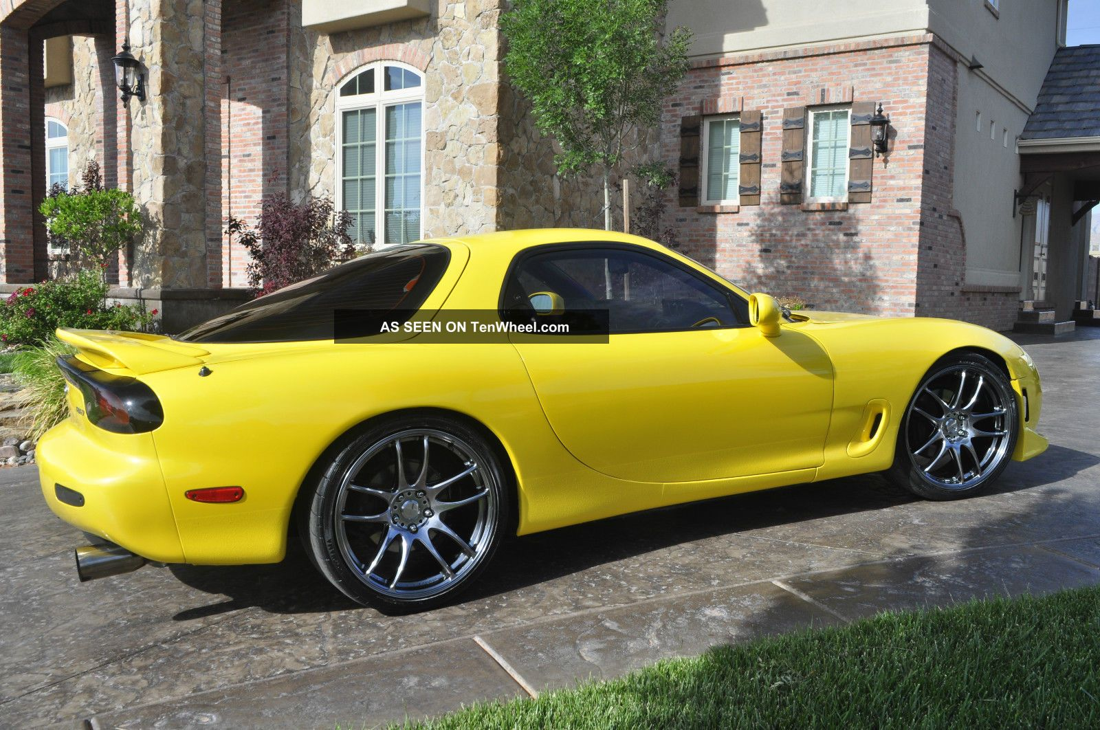 1993 Mazda Rx - 7 Fd R1 Coupe 2 - Door 1.  3l Mica Yellow RX-7 photo