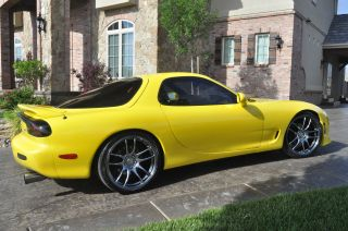 1993 Mazda Rx - 7 Fd R1 Coupe 2 - Door 1.  3l Mica Yellow photo