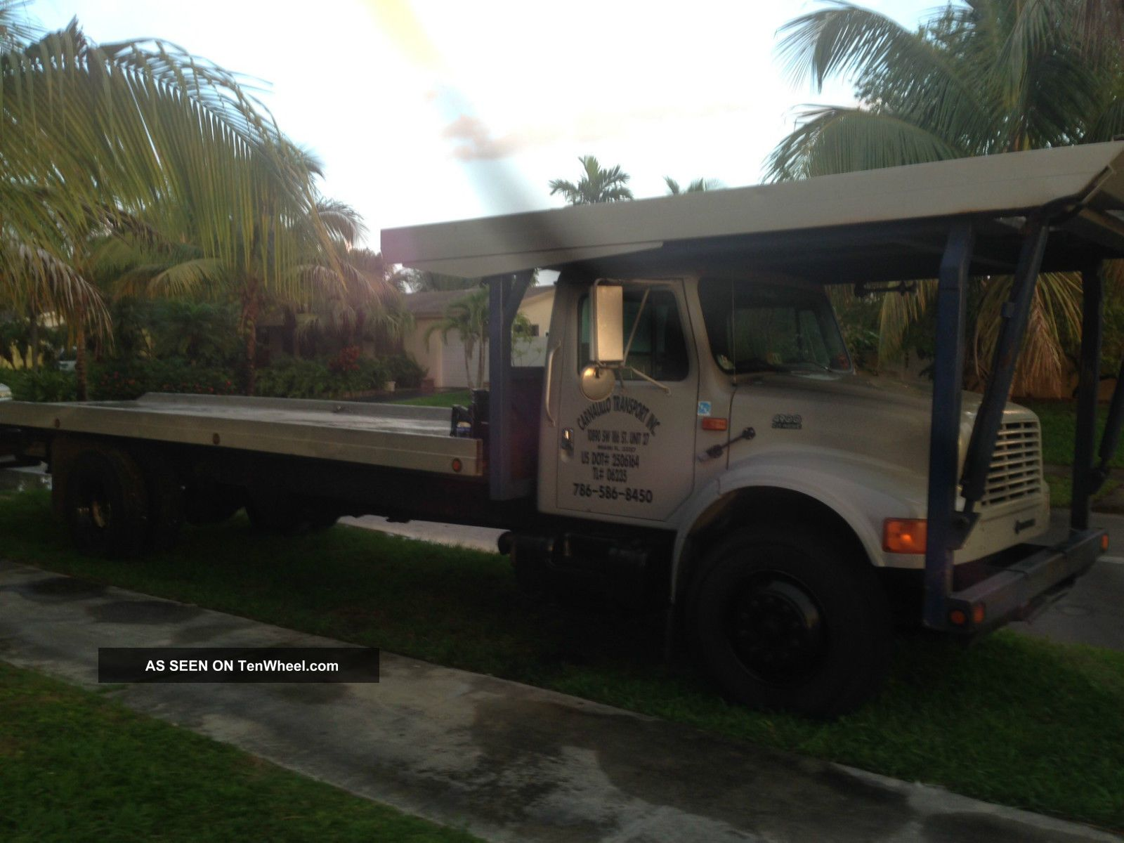 2000 International 4 Car Tow Truck Other Makes photo