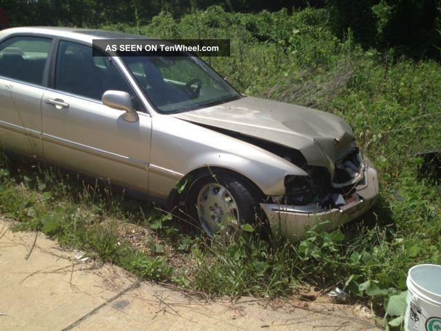 1999 Acura Rl Premium Sedan 4 - Door 3.  5l Wrecked RL photo