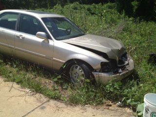 1999 Acura Rl Premium Sedan 4 - Door 3.  5l Wrecked photo