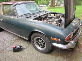 1973 Triumph Stag Barn Find Restoration Project photo