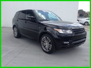 2014 Range Rover Sport Autobiography 4k Mile 3rd Row Park Assist Soft Door Close photo