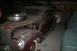 1951 Mercedes Roadster 220b Cabriolet Barn Find Stored Since 60 ' S photo