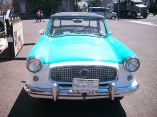 1961 Nash Metropolitan Convertible Unrestored photo