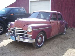 1949 Plymouth Deluxe Barn Find Rust Body Perfect Rat Rod photo