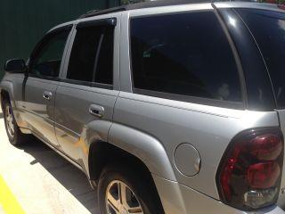 2007 Chevrolet Trailblazer Lt Sport Utility 4 - Door 4.  2l,  Silver W / Black Interior photo
