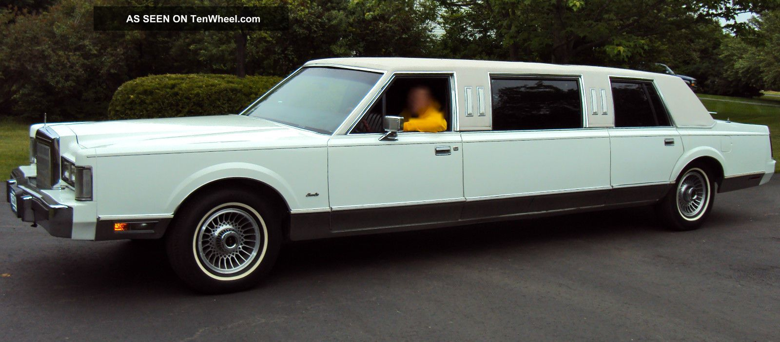 1988 Lincoln Town Car Base Sedan 4 Door 5 0l Limo