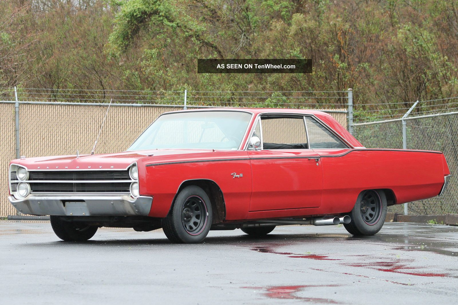 1967 Plymouth Fury Iii – 2 Door Hardtop - V8 318 Cid 2bbl - 727 Torqueflight A / T Fury photo
