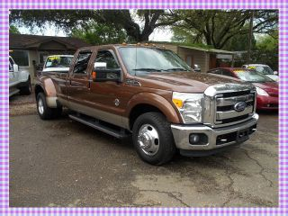 2011 Ford F - 350 6.  7 Diesel Lariat Package Crew Cab photo