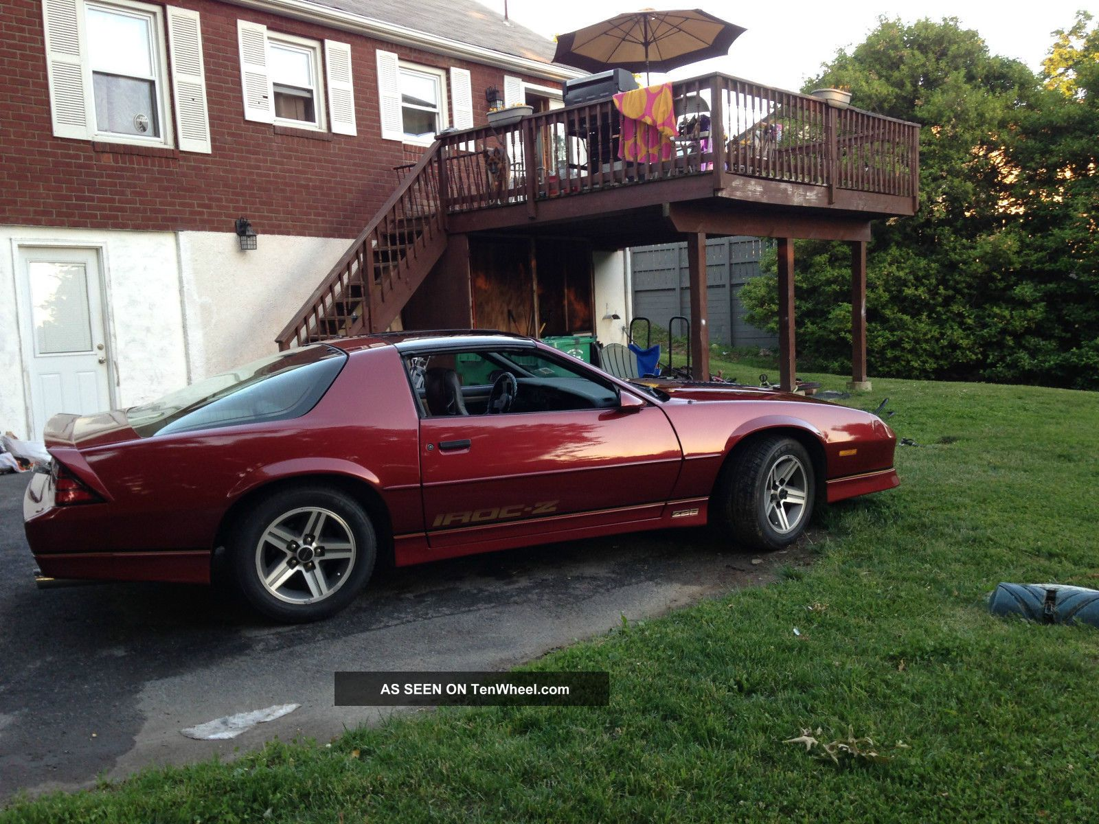 1987 chevrolet camaro z28 iroc z coupe 2 door 5 7l