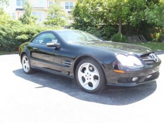 2004 Mercedes Sl 500 Convertible Rare $103,  000 Msrp photo