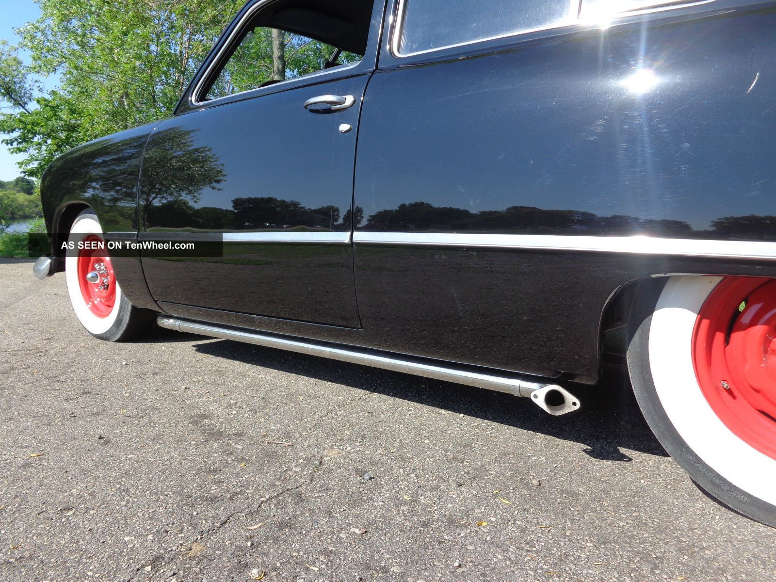 1949 Ford 2 Door Sedan Shoebox Flat Head V8