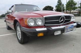 1981 Mercedes - Benz Sl380 Sl 380 photo