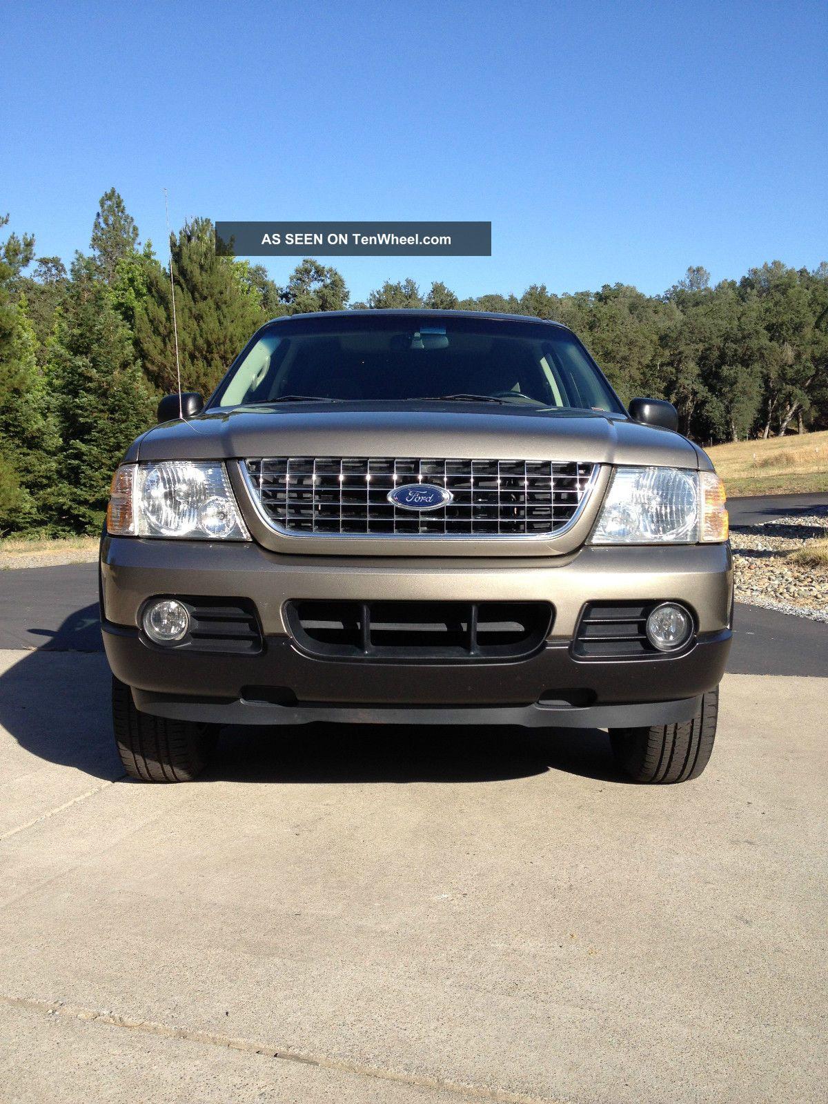 Ford Explorer 4x4 Suv Four Wheel Drive Cruise Control Autocheck