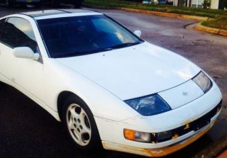 Nissan 300zx (1993),  2 Door Coupe,  White,  Automatic,  Interior photo