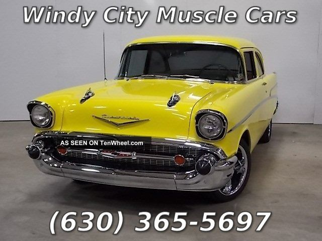 1957 Chevrolet 210 Delray 2 Door Club Coupe Restomod 327 Bel Air/150/210 photo